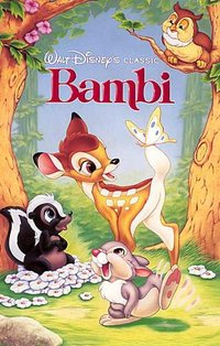 1989 VHS cover of Bambi.