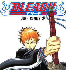 Cover of Bleach Manga Vol. 1