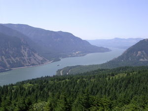 Columbia River Gorge, Oregon or South side