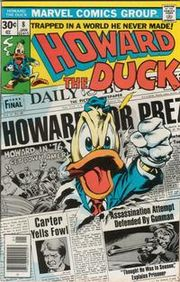Howard the Duck #8 (Jan. 1977). Art by Gene Colan and Steve Leialoha
