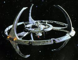 Space station Deep Space Nine.