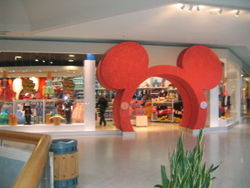Disney Store in Scarborough, Ontario, Canada, after a 2005 renovation.