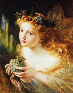 Take the Fair Face of Woman... by Sophie Anderson