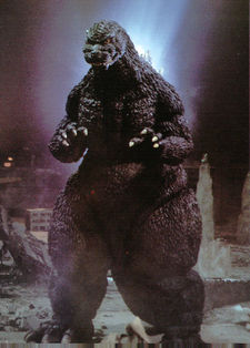 Godzilla , as portrayed during the late Heisei era (Godzilla vs. SpaceGodzilla, 1994)