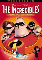 The Incredibles two-disc Collector's Edition DVD