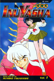 2nd English edition of InuYasha Vol. 1 manga graphic novel.
