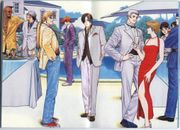 King of Fighters '98 promotional group capture.