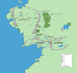 Middle Earth during the 3rd Age