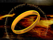 Artist's impression of The One Ring