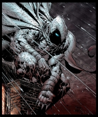 Moon Knight, art by David Finch.