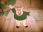 Porky as he first appeared in I Haven't Got a Hat.