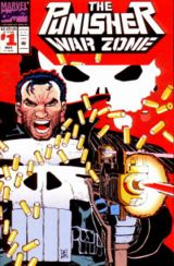 The Punisher War Zone #1 (March 1992), cover art by John Romita Jr.