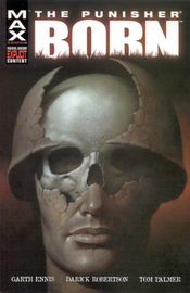 Cover to The Punisher: Born.