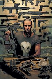 The Punisher's arsenal.