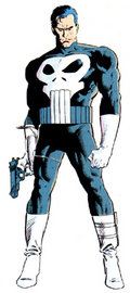 Old classic Punisher costume.