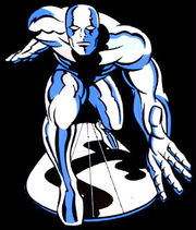The Silver Surfer from the animated series.