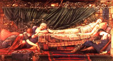 Sir Edward Burne-Jones painted The Sleeping Beauty.
