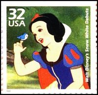 Snow White in the Disney Animation.