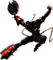 Spawn as he appears in the Xbox version of Soul Calibur II.