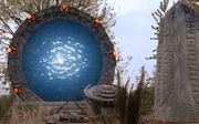 An open Stargate from Stargate SG-1