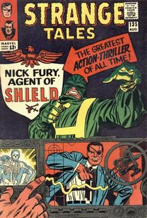 Strange Tales #135 (Aug. 1965), art by Jack Kirby and Frank Giacoia.