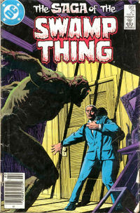 Swamp Thing (vol. 2) #21, February 1984, art by Tom Yeates