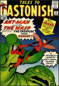Tales to Astonish #44. Cover art by the rare penciler-inker team of Jack Kirby & Don Heck.