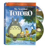 The DVD Cover for Disney's recent dub of My Neighbor Totoro.