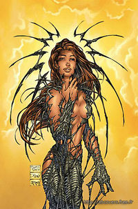 Cover for Witchblade #25 by Michael Turner