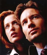 Promotional photo from The X-Files: Fight the Future