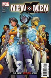 Cover of New X-Men: Academy X Issue 1, Pencils by Randy Green
