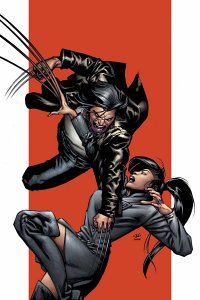 Cover of Ultimate X-Men #60, featuring Wolverine and Deathstrike. Art by Stuart Immonen.